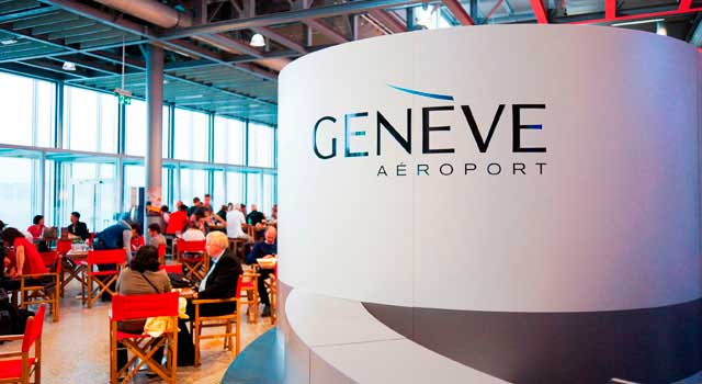 GVA Airport is located 4 kilometres northwest of Geneva.